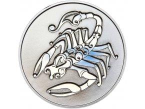 Znamení zvěrokruhu ŠTÍR - stříbrná medaile