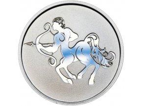 Znamení zvěrokruhu STŘELEC - stříbrná medaile