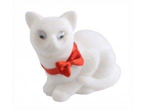 Dárková krabička - kočička bílá