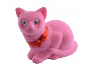 Dárková krabička - kočička růžová
