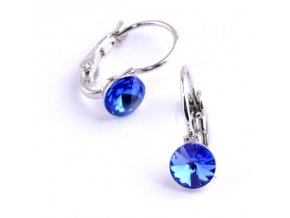 vyr 2282Detske nausnice se Swarovski crystals Rivoli 6 Sapphire u