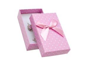 krabicka na soupravu sperku ruzova s puntiky 063507 pd