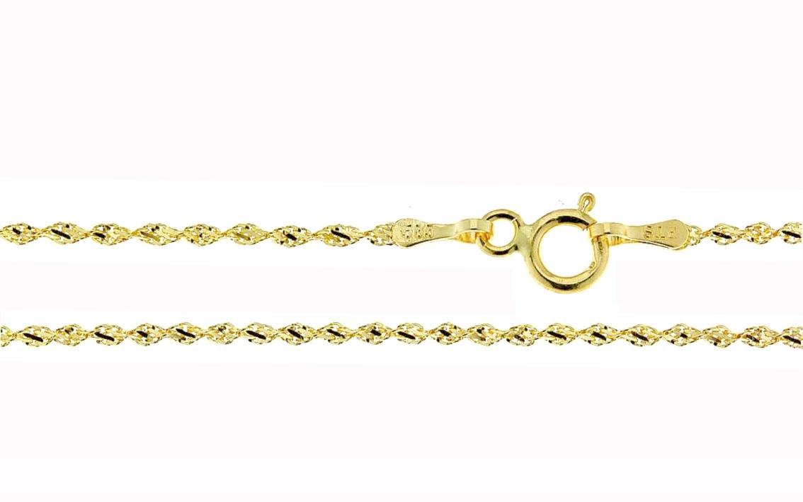 Zlatý dětský řetízek Varianta:: Délka 40 cm