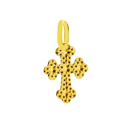 Křížek ze žlutého zlata