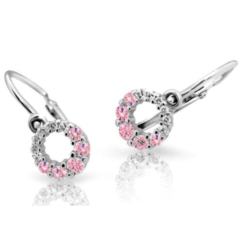Cutie Jewellery Dětské naušnice Cutie C2154-B Pink