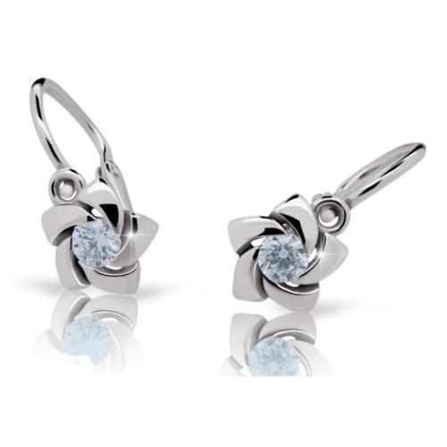 Cutie Jewellery Dětské naušnice Cutie C2201-B Arctic Blue
