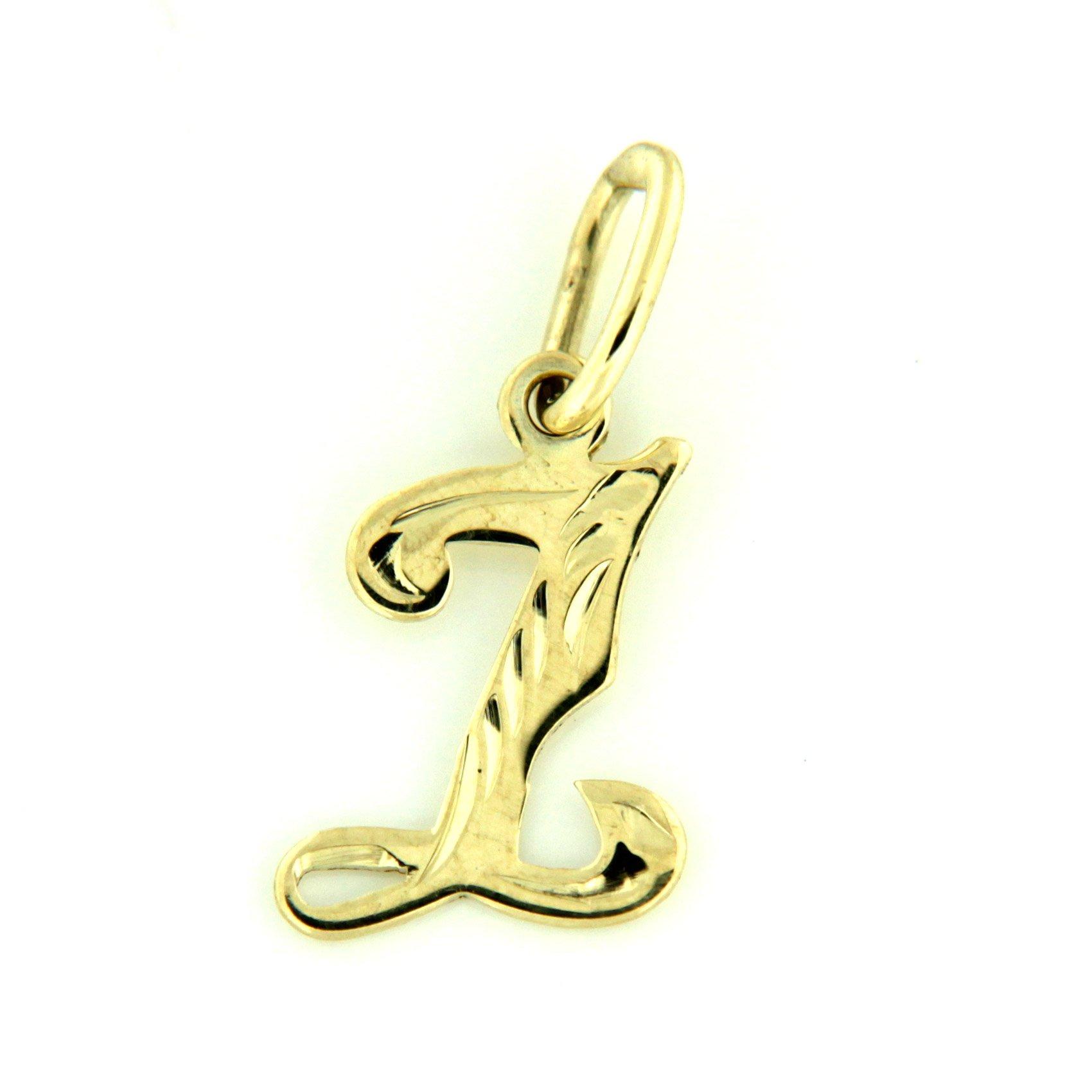 Zlaté přívěsky písmenka A - Z Písmeno: Z
