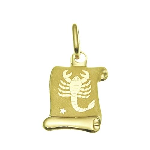 Zlatý přívěsek - znamení Štír