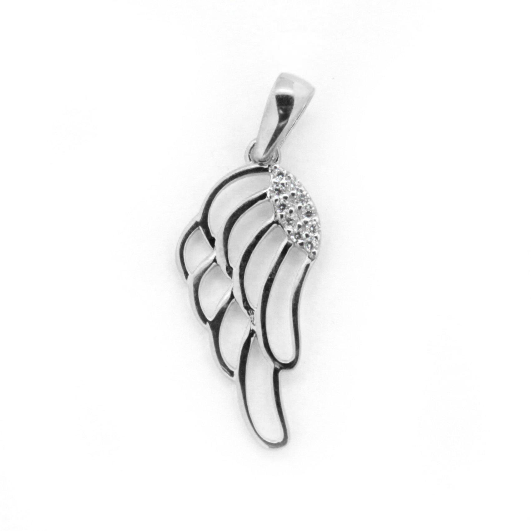 Zlatý přívěsek - andělské křídlo
