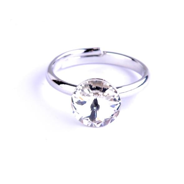 Dětský prsten Swarovski® crystals Rivoli - čirý
