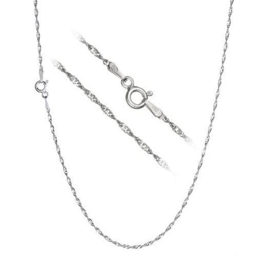 Stříbrný řetízek lambáda 45 cm