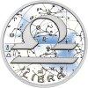 Znamení zvěrokruhu VÁHY - stříbrná medaile
