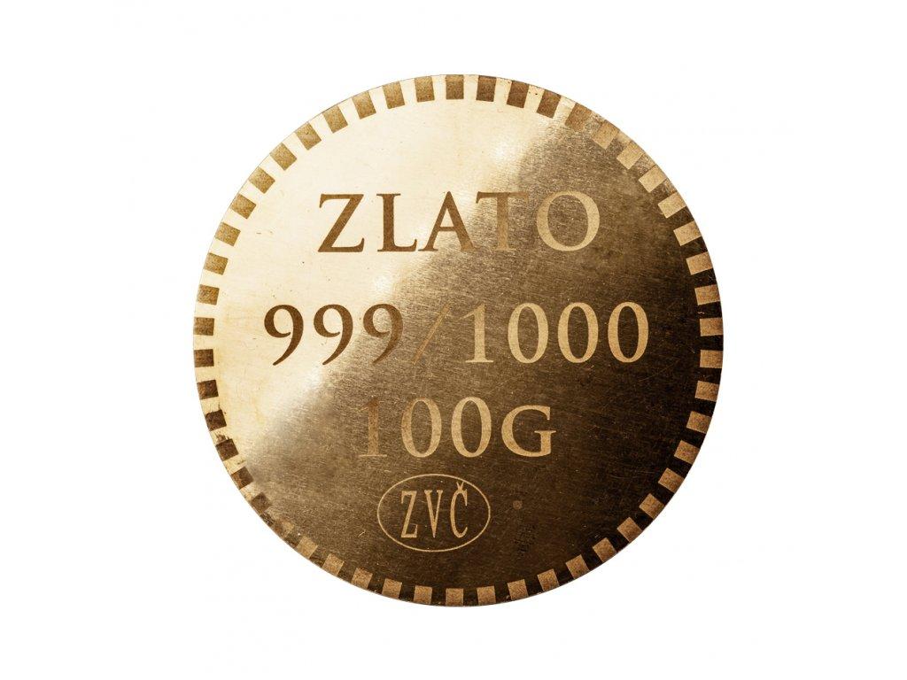 Investiční mince Zlatar 999.9