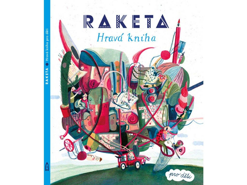 RAKETA HRAVÁ KNIHA, LABYRINT, zlatavelryba.cz, 1