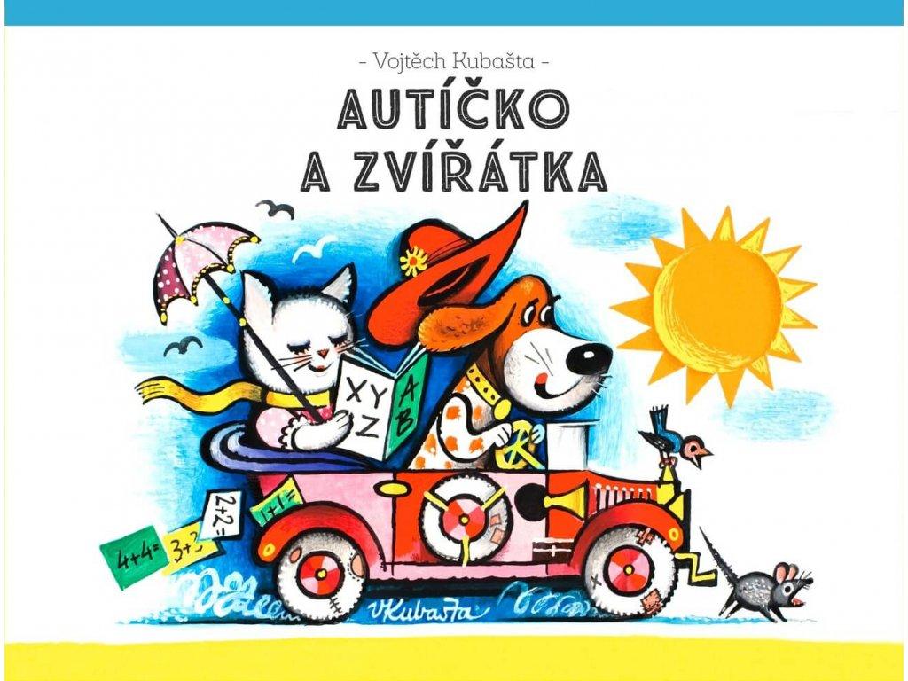 Autíčko a zvířátka, Vojtěch Kubašta, zlatavelryba.cz(1)