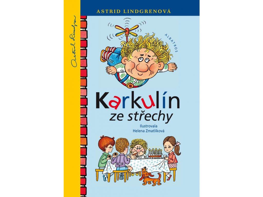Karkulín ze střechy, Astrid Lindgrenová, zlatavelryba.cz 1