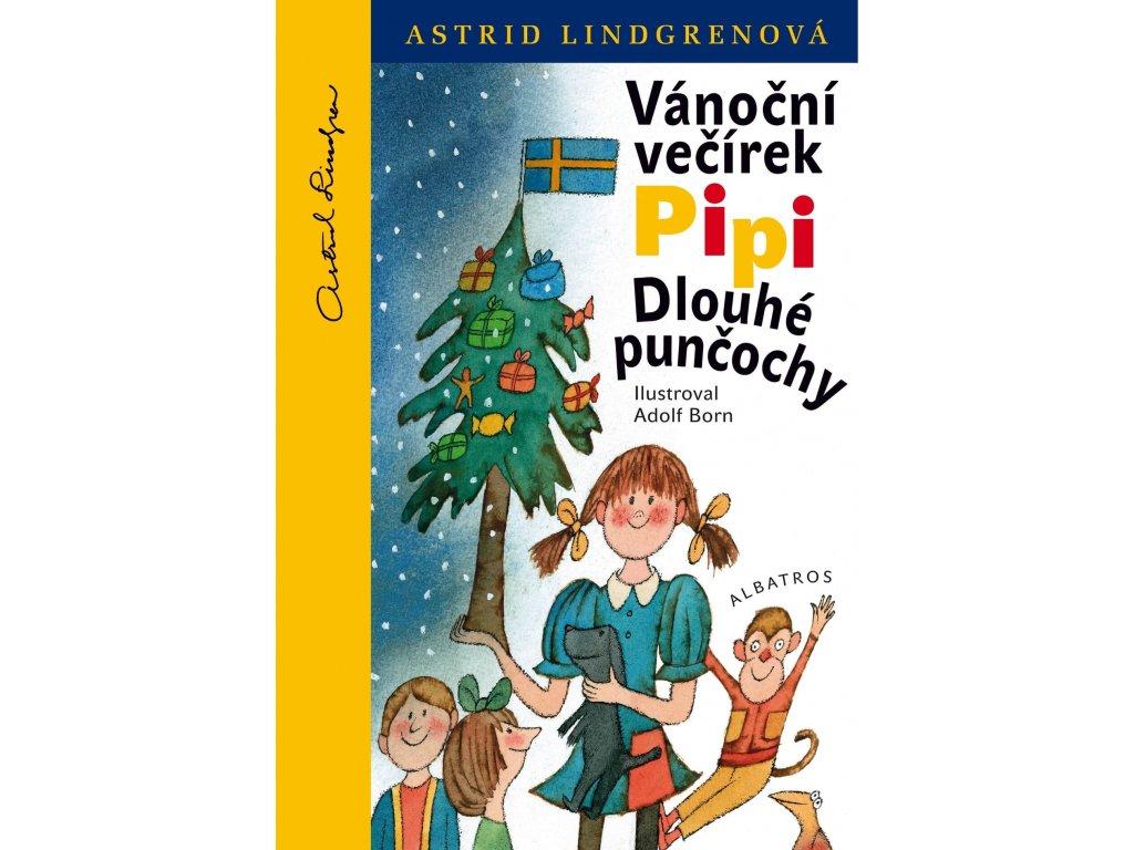 Vánočná večírek Pipi Dlouhé punčochy, Astrid Lindgrenová, zlatavelryba.cz 1