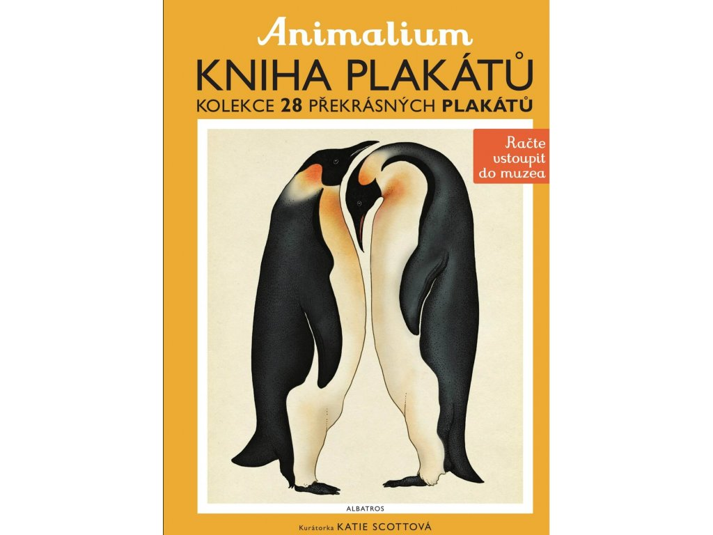 Animalium kniha plakátů, Jenny Broomová, zlatavelryba.cz 1
