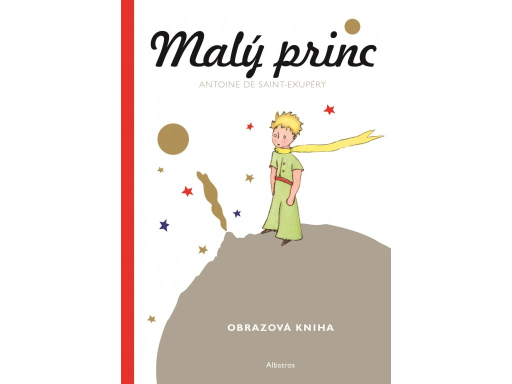 MALÝ PRINC MALÁ OBRAZOVÁ KNIHA, ANTOINE DE SAINT EXUPÉRY, zlatavelryba.cz (1)