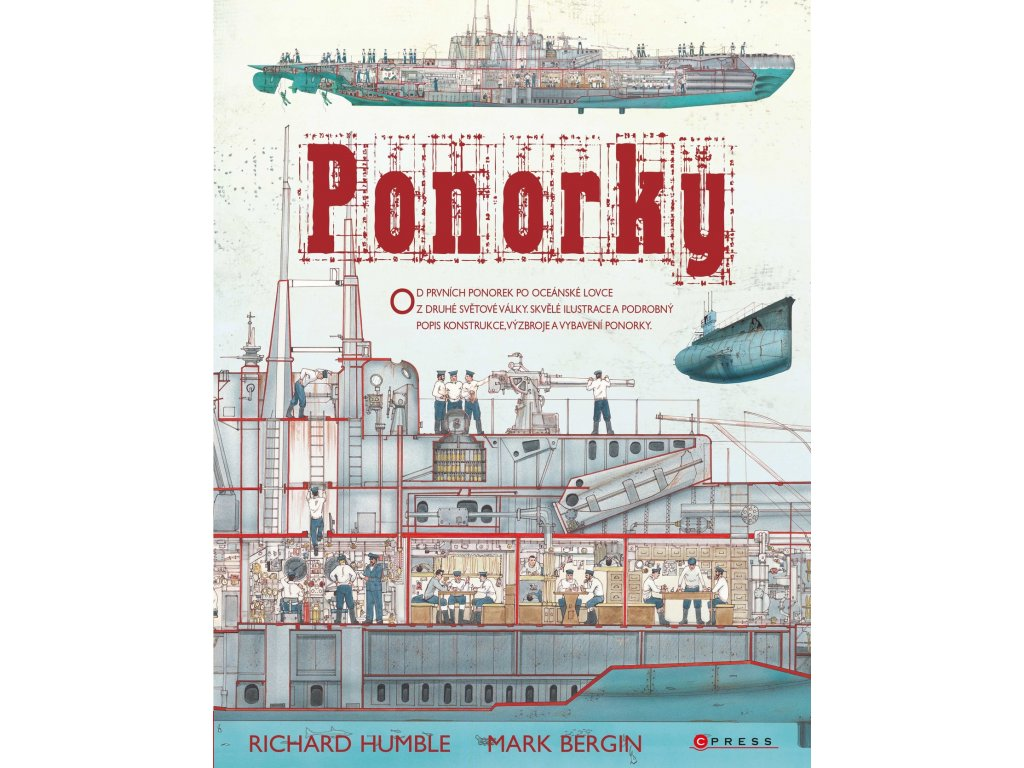 PONORKY, RICHARD HUMBLE, MARK BERGIN, zlatavelryba.cz (1)