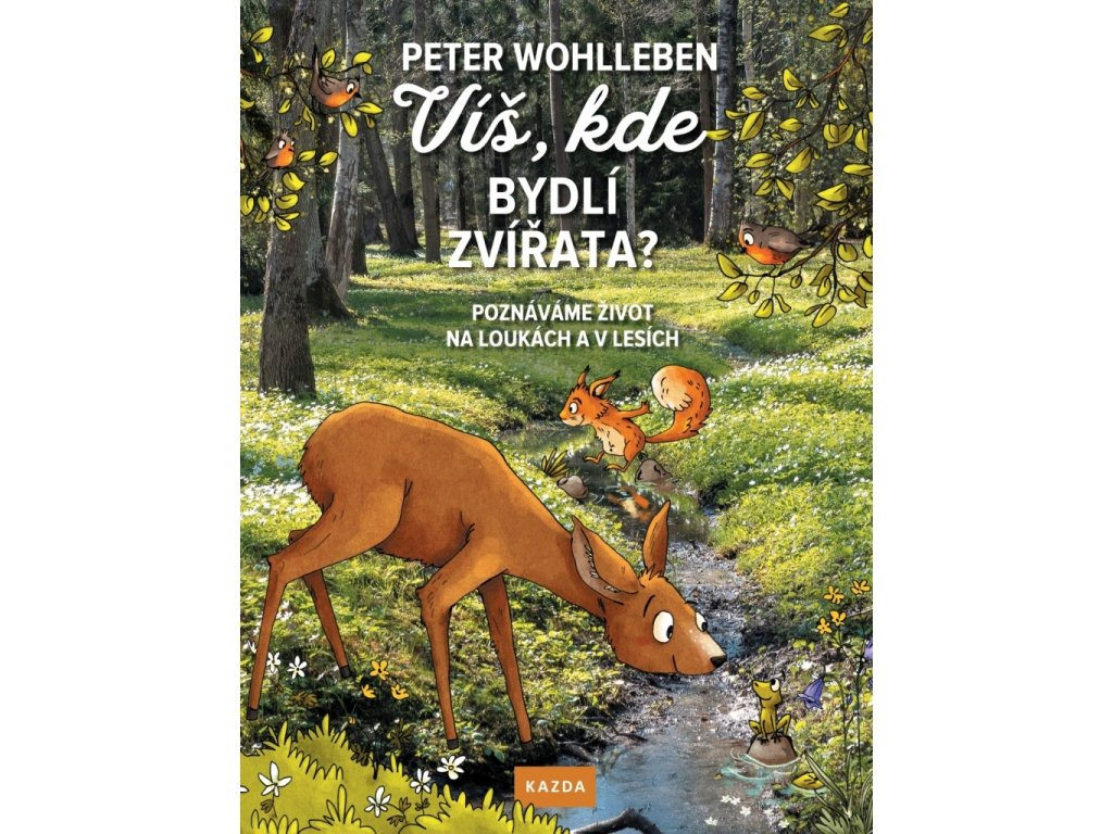 VÍŠ, KDE BYDLÍ ZVÍŘATA PETER WOHLLEBEN, zlatavelryba.cz (1)