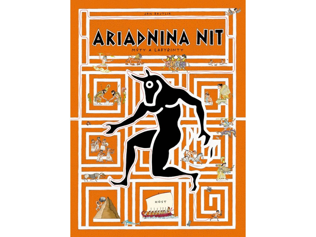 Ariadnina nit, Jan Bajtlik, zlatavelryba.cz