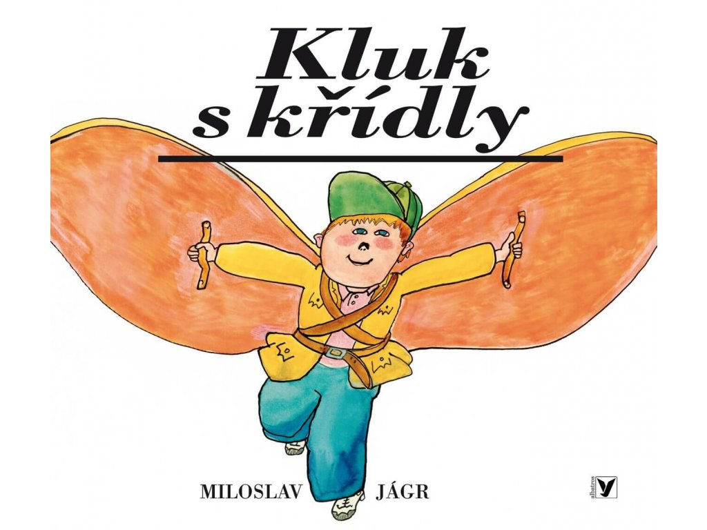 KLUK S KŘÍDLY, MILOSLAV JÁGR, zlatavelryba.cz, 1