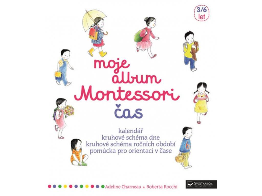 Moje album Monterssori Čas, Adeline Charneau, zlatavelryba.cz 1