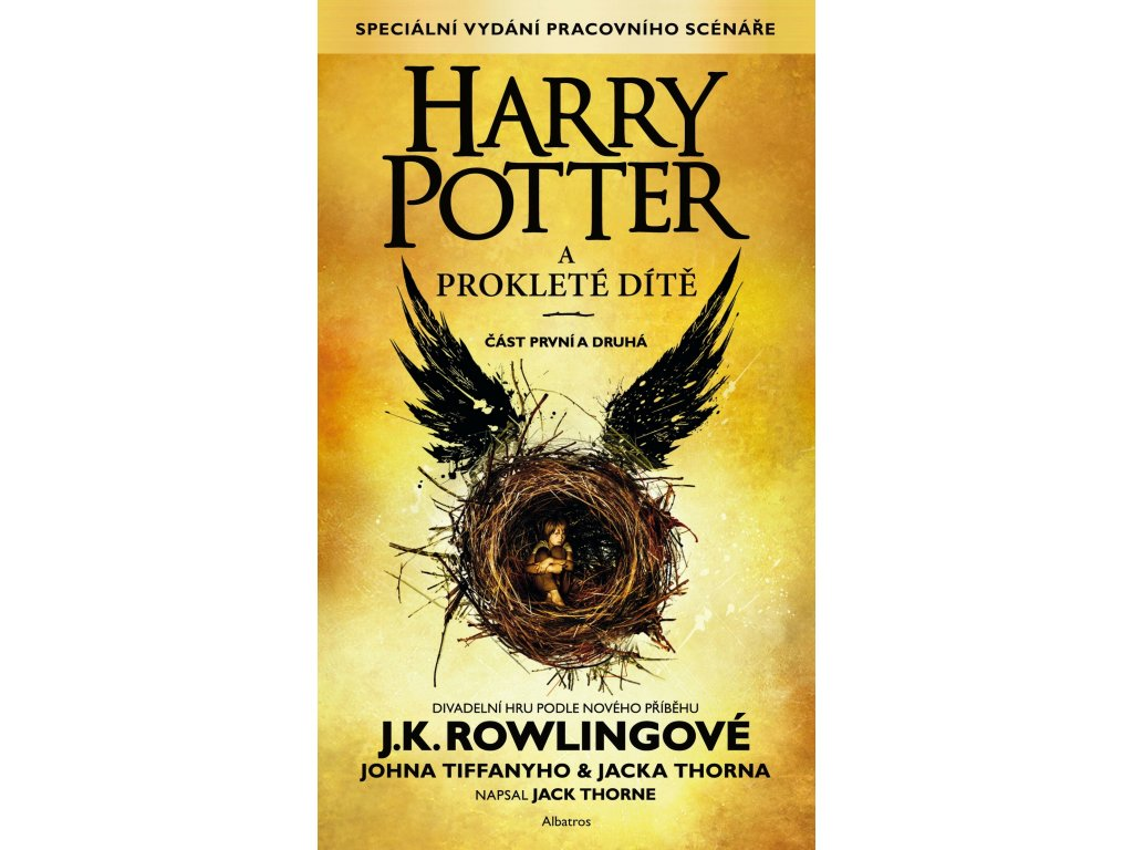 HARRY POTTER A PROKLETÉ DÍTĚ, J. K. ROWLINGOVÁ, zlatavelryba.cz (1)