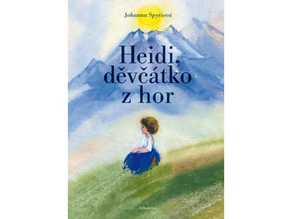 HEIDI, DĚVČÁTKO Z HOR, JOHANNA SPYRIOVÁ, zlatavelryba.cz (1)