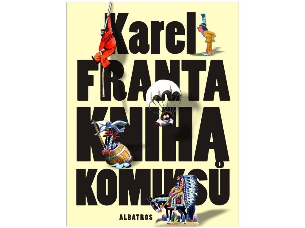 KNIHA KOMIKSŮ, KAREL FRANTA, zlatavelryba.cz (1)