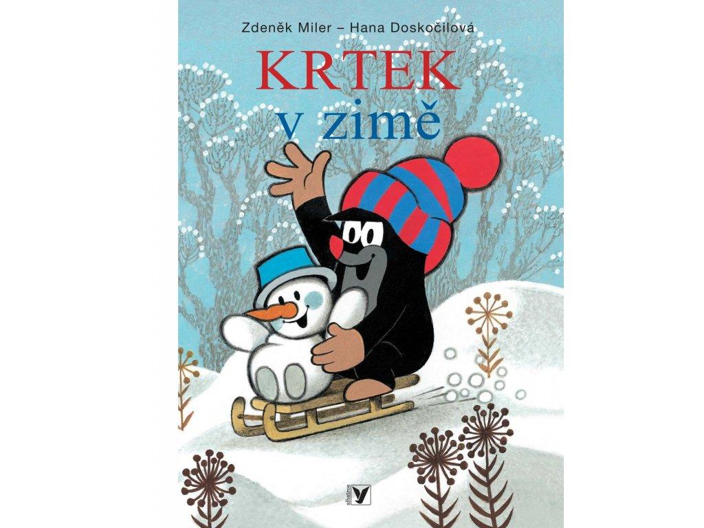 KRTEK V ZIMĚ, HANA DOSKOČILOVÁ, zlatavelryba.cz (1)