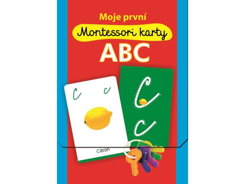 Moje první Montessori karty ABC, zlatavelryba.cz 1