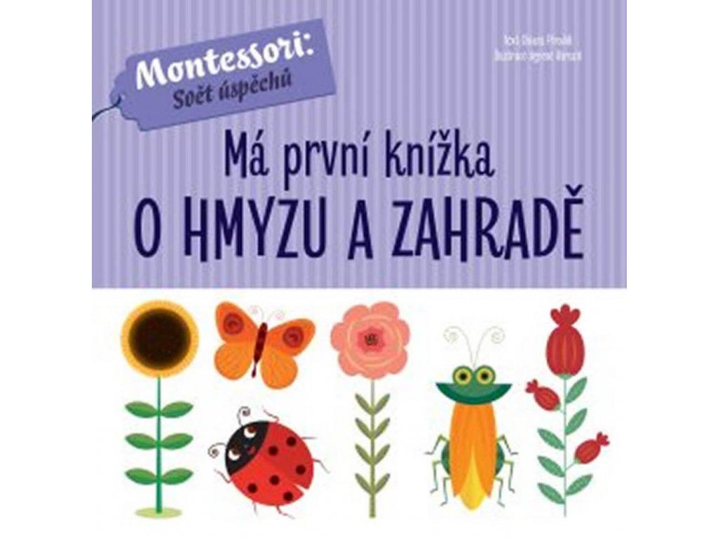 Má první knížka O hmyzu a zahradě, Chiara Piroddi, zlatavelryba.cz 1