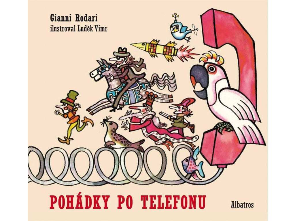 Pohádky po telefonu, Gianni Rodari, zlatavelryba.cz 1