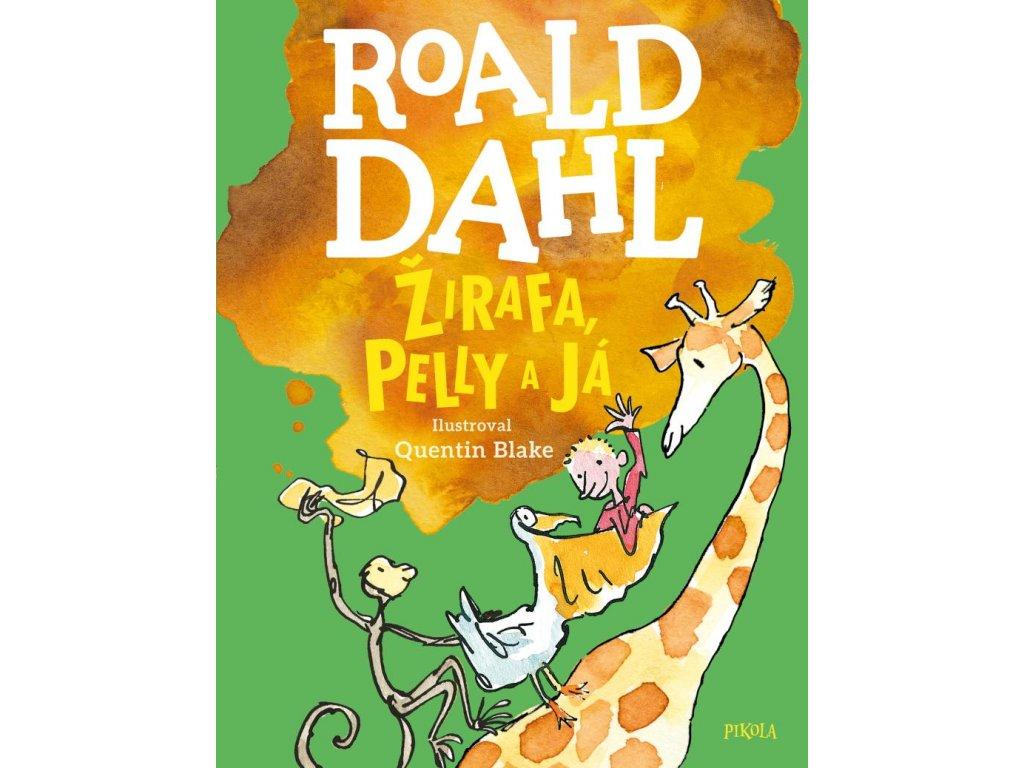 ŽIRAFA, PELLY A JÁ, ROALD DAHL, zlatavelryba.cz (1)