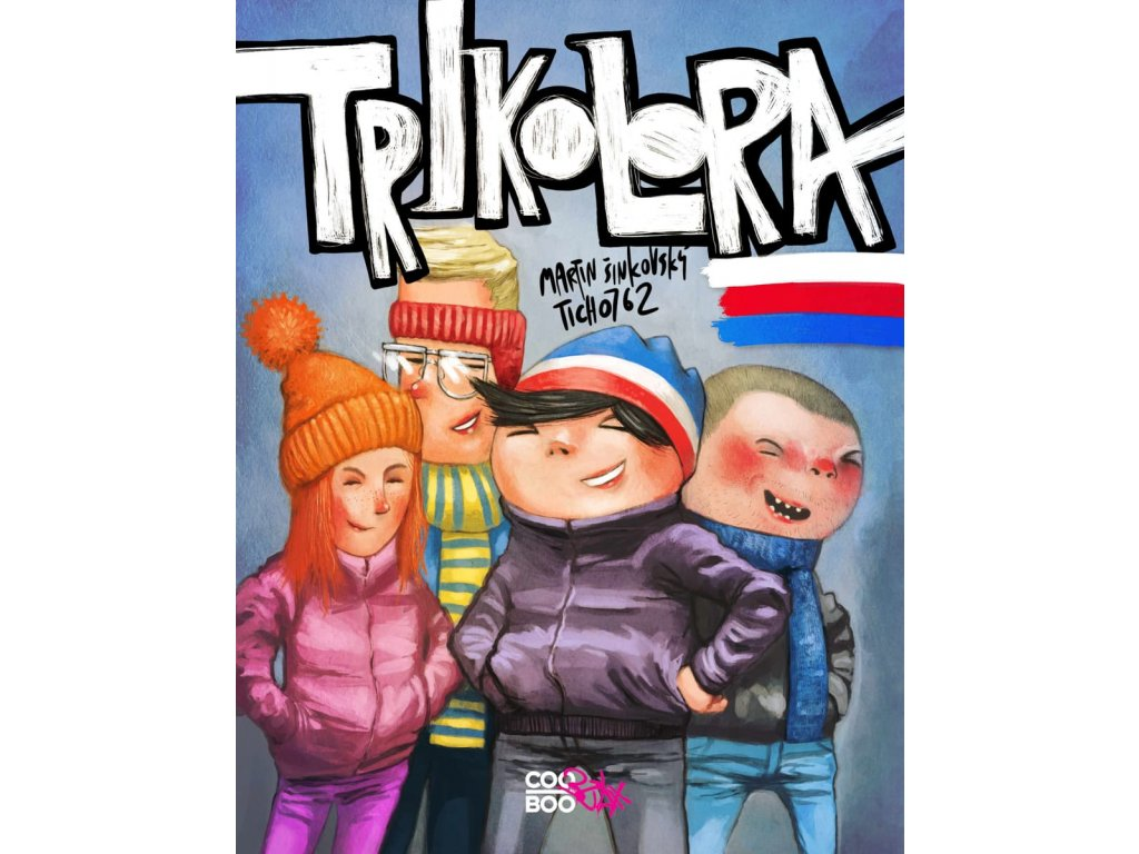 Trikolora, Martin Šinkovský, zlatavelryba.cz, 1