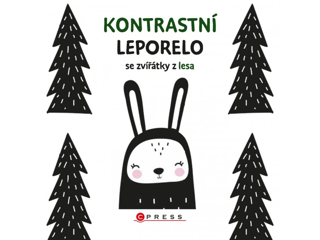 KONTRASTNÍ LEPORELO SE ZVÍŘÁTKY Z LESA, zlatavelryba.cz (1)