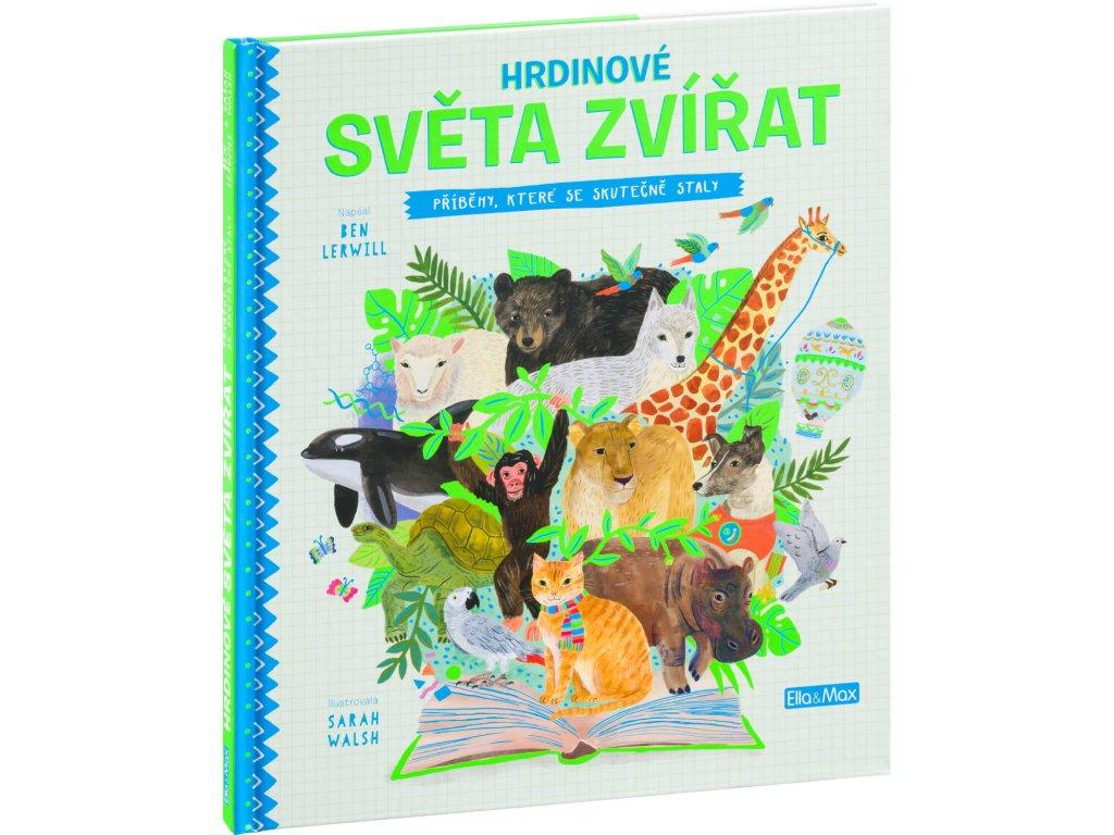 HRDINOVÉ SVĚTA ZVÍŘAT, BEN LERWILL, zlatavelryba.cz, 1 (1)