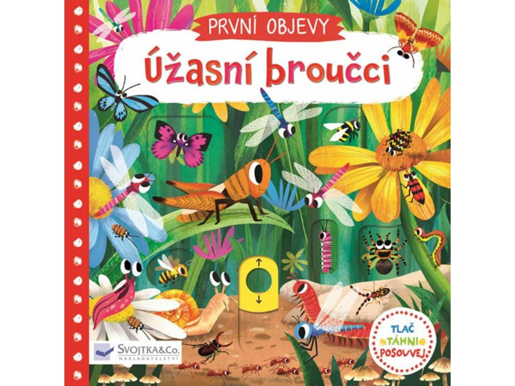 První objevy Úžasní broučci, Jenny Wren, zlatavelryba.cz 1