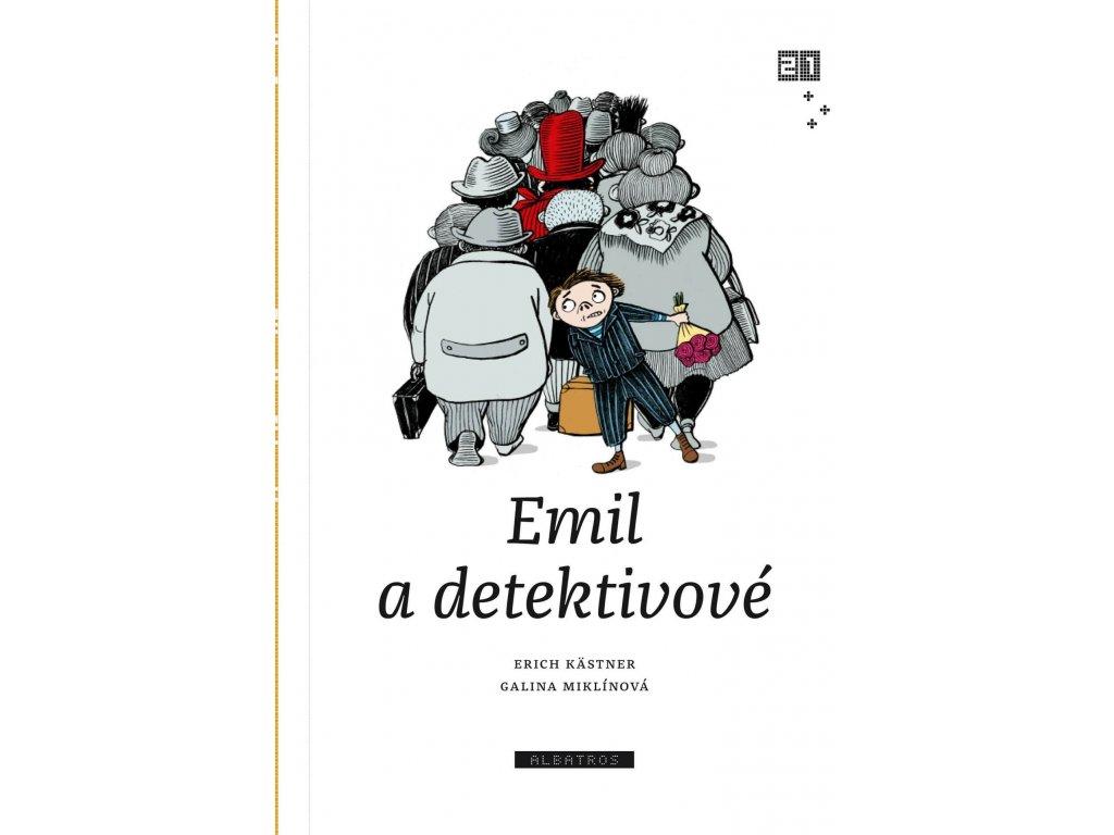 EMIL A DETEKTIVOVÉ, ERICH KASTNER, zlatavelryba.cz, 1