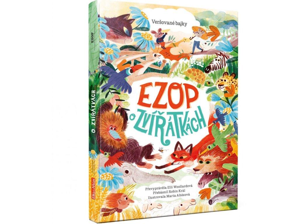 Ezop o zvířátkách, Elli Woollardová, zlatavelryba.cz