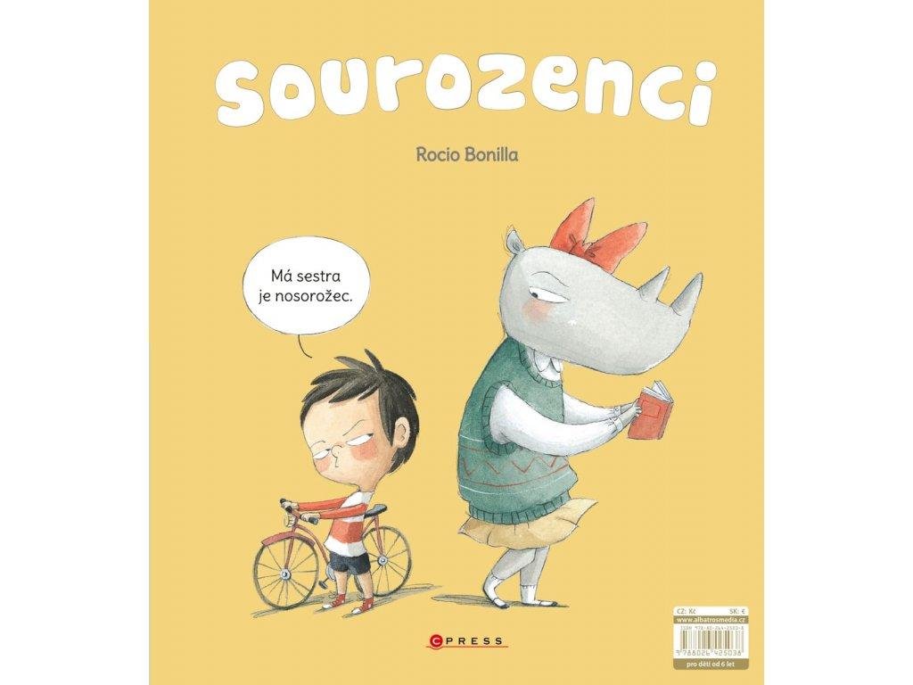Sourozenci Rocio Bonilla, zlatavelryba.cz 1