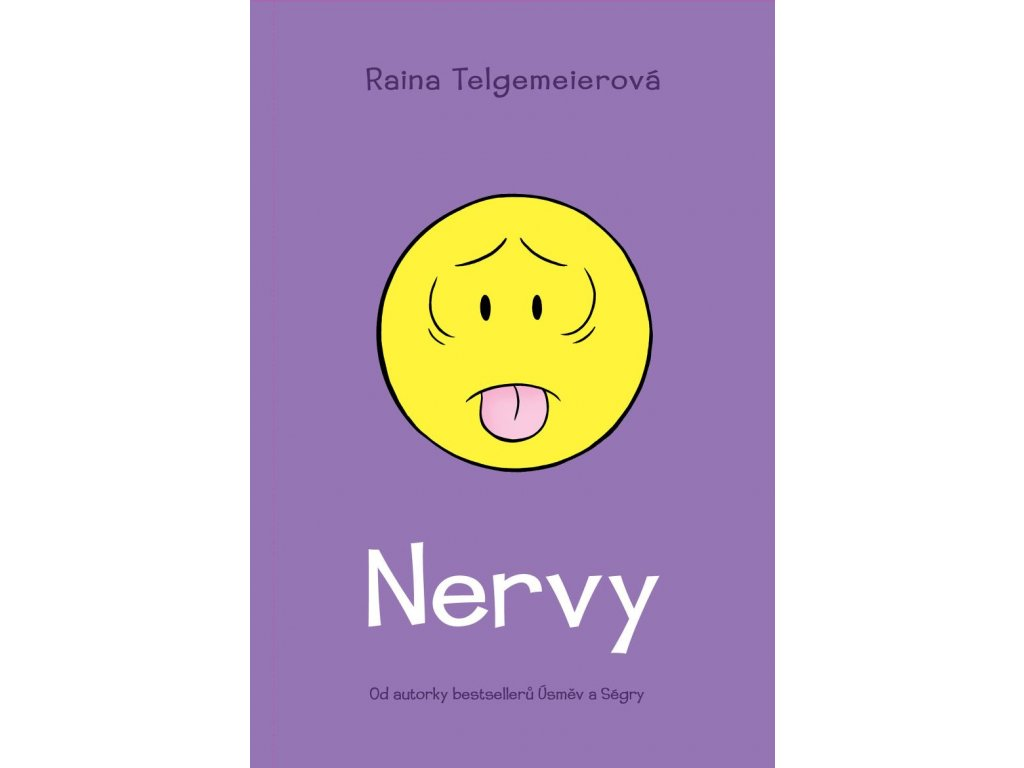 NERVY, RAINA TELGEMEIEROVÁ, zlatavelryba.cz