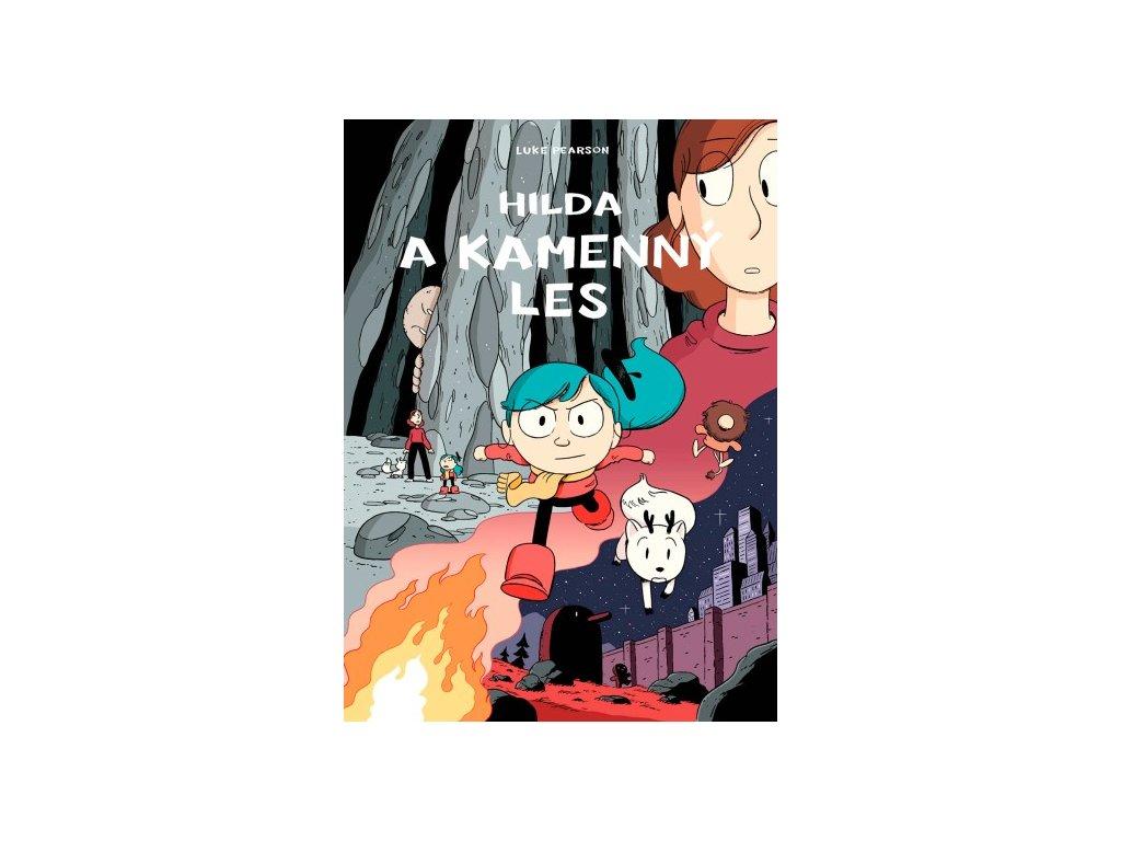 Hilda a kamenný les, Luke Pearson, zlatavelryba.cz
