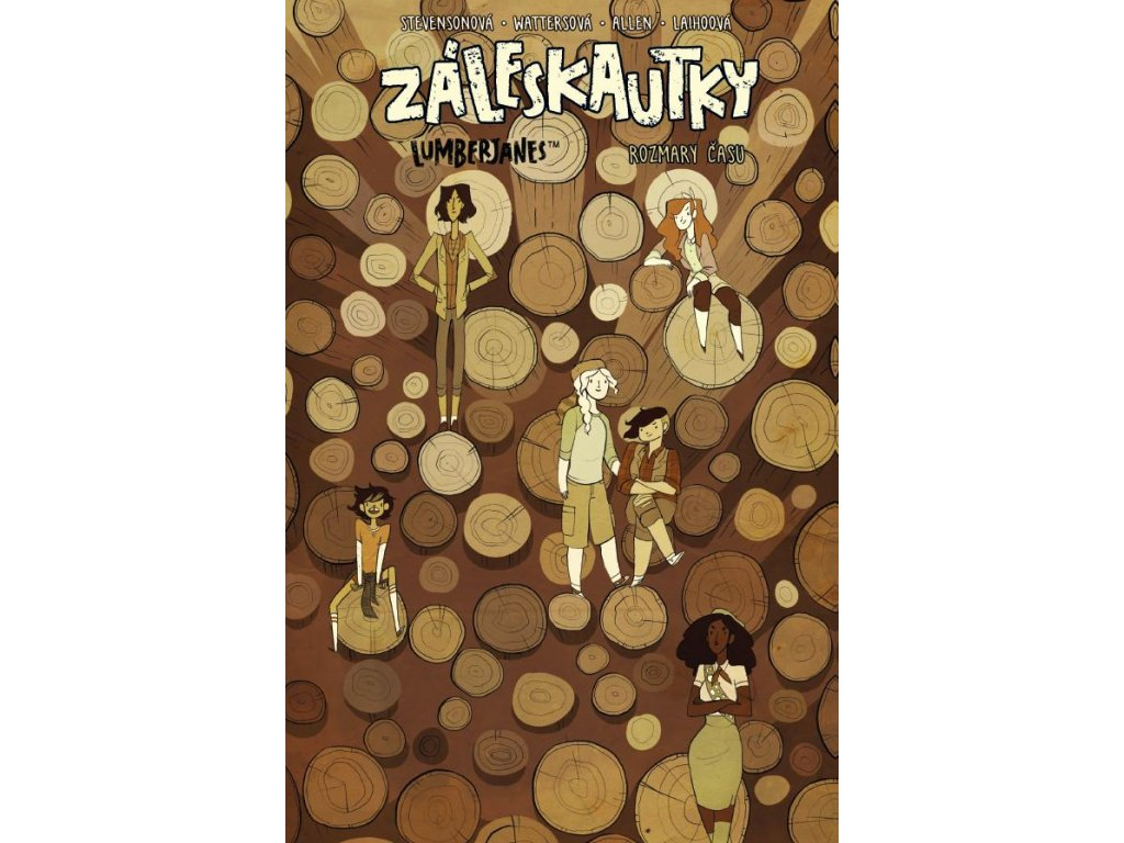 ZÁLESKAUTKY - LUMBERJANES 4, zlatavelryba.cz