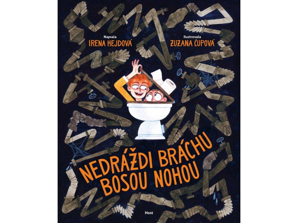 NEDRÁŽDI BRÁCHU BOSOU NOHOU, IRENA HEJDOVÁ, zlatavelryba.cz