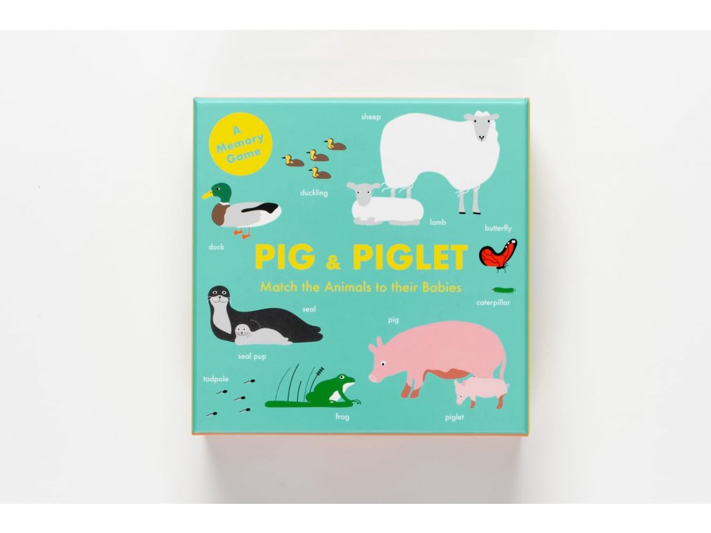 Pig & Piglet, zlatavelryba.cz, 2