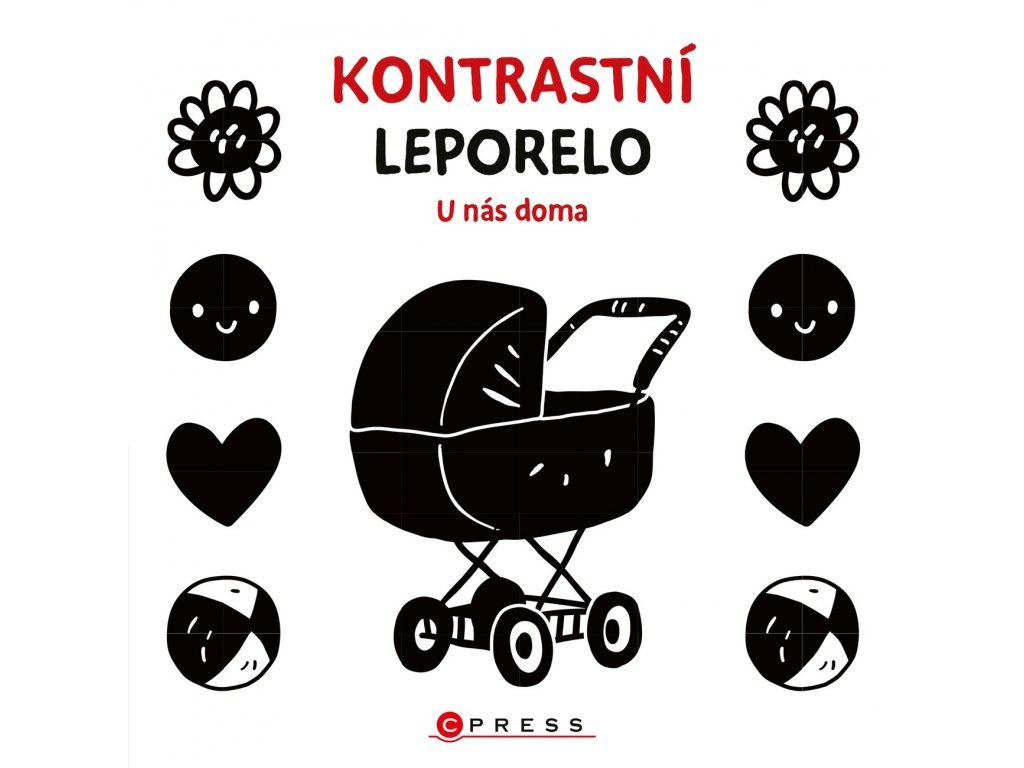 KONTRASTNÍ LEPORELO U NÁS DOMA, KOLEKTIV, zlatavelryba.cz (2)