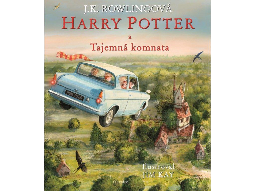 Harry Potter a Tajemná komnata ilustrované vydání,J. K. Rowlingová, zlatavelryba.cz, 1